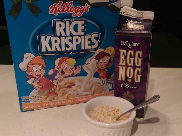Eggnog-Cereal