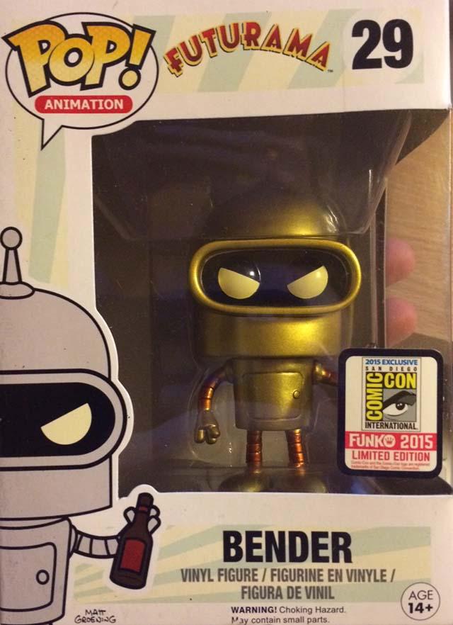 Golden-Bender-Funko-Pop