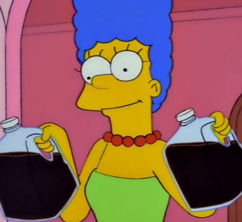 Marge's Homemade Pepsi