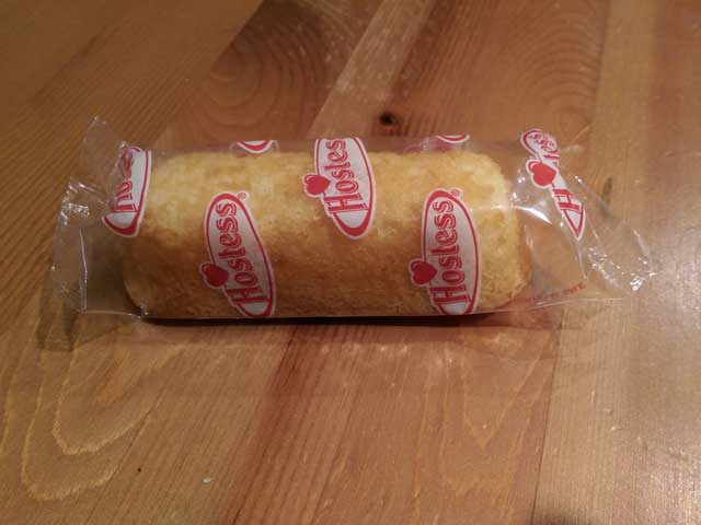 Twinkie Aged for One Year...Plus Several Months