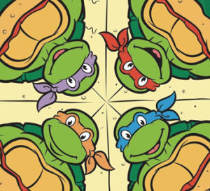 Four-Cheese for Four Bros Pizza - Teenage Mutant Ninja Turtles Screenshot