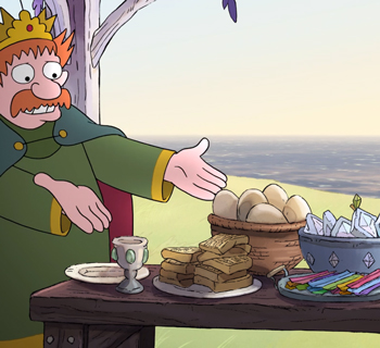 King Zog Brunch from Disenchantment Screenshot