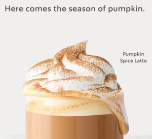 Pumpkin Spice In August