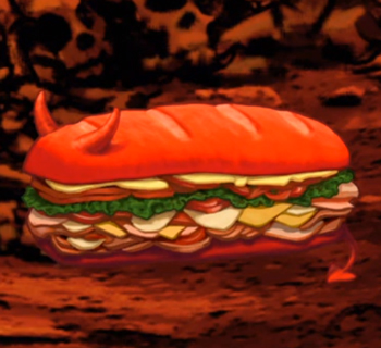 The Broodwich from Aqua Teen Hunger Force