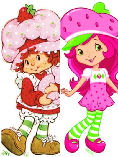 Strawberry Shortcake Comparison
