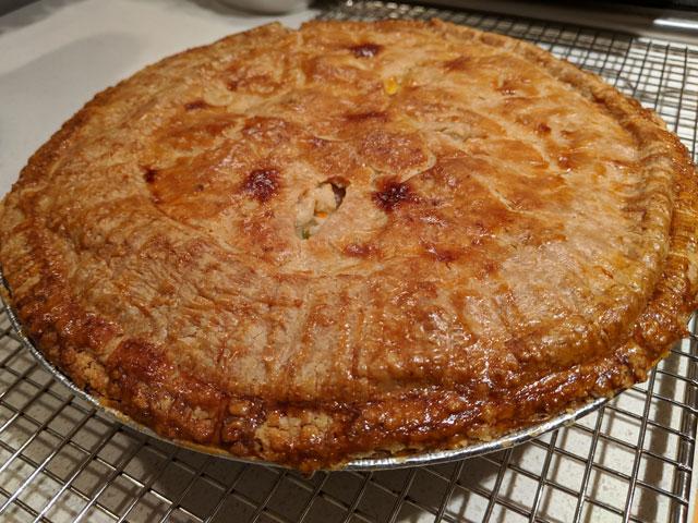 Chicken Run Chicken Pot Pie